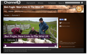 Ben Fogle New Livesd in the Wild UK Episode 5 on Fair Isle